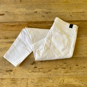 Vince white skinny Jeans Size 28
